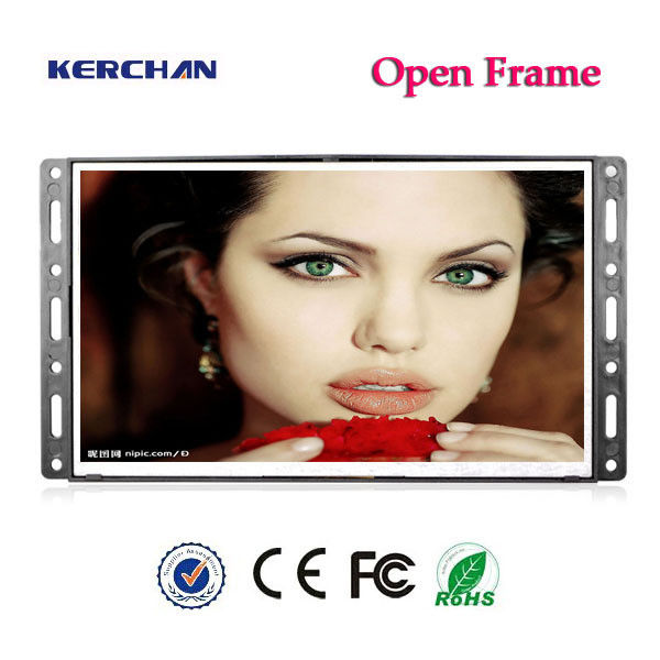 Ultra Thin Digital Full HD LCD Screen 7 Inch With AC / Battery Operated