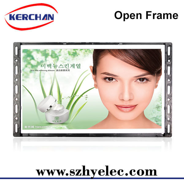 7 Inch Advertising Open Frame LCD Screen 25000 Hours Screen Life 12 Months Warranty