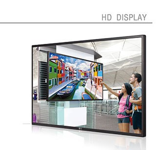 21.5 Inch Commercial tablet High Definition Media Player With Wide Viewing Angle